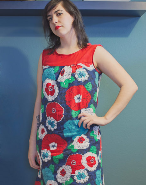 Ruby Dress: Hawaiian Flowers
